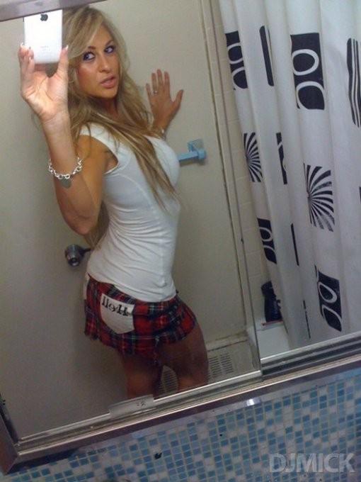 Эротические селфи перед зеркалом - секс порно фото